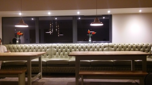 Dining Room Area of The Cowshed