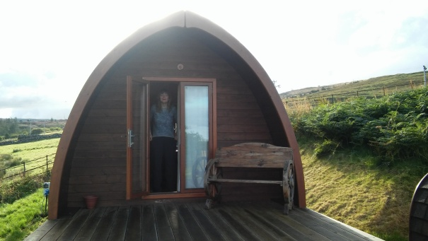 Our pod at The Cowshed.