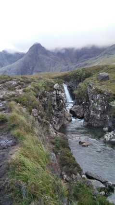 The Fairy Pools right at the Foot of The Cuillins