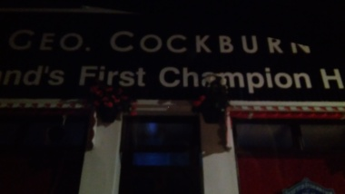Cockburn's in Dingwall, best Haggis, they say