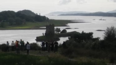 Stalker Castle and the Photographers