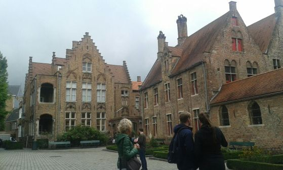 St. Jan's Hospital in Bruges. I remembered this place from the first trip in 2004 and was really glad to have found it again.