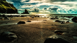 Talisker Beach | Isle of Skye, Scotland