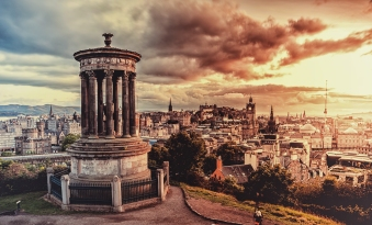 Calton Hill View | Edinburgh, Scotland